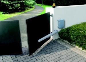 motorisation de portail en fonctionnement