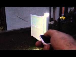télécommande portail électrique